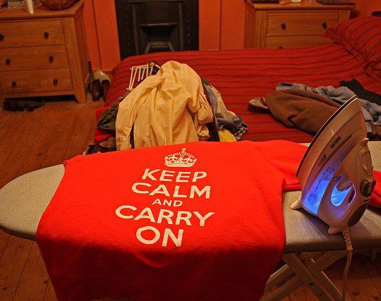 ironing σιδέρωμα flickr