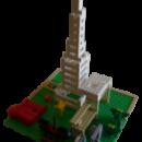 Πύργος λε lego για χειρός Μανόλη Τρύφωνα