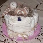 """Οικολογικό """"κέικ"""" από ... πάνες ή αλλιώς: eco-diaper cake!"""