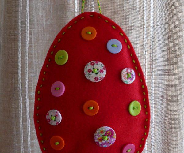 popeli.gr πασχαλινό αυγό από τσόχα