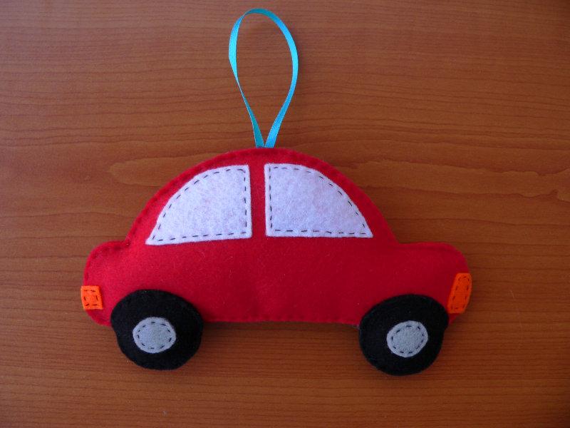 Αυτοκινητάκι από τσόχα