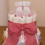 Δωράκι για νεογέννητο ή αλλιώς ... diaper cake!
