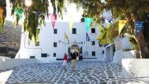Ιερά Μονή Λογγοβάρδας Πάρος θαύμα διάσωσης παριανών αιχμαλώτων κατοχή