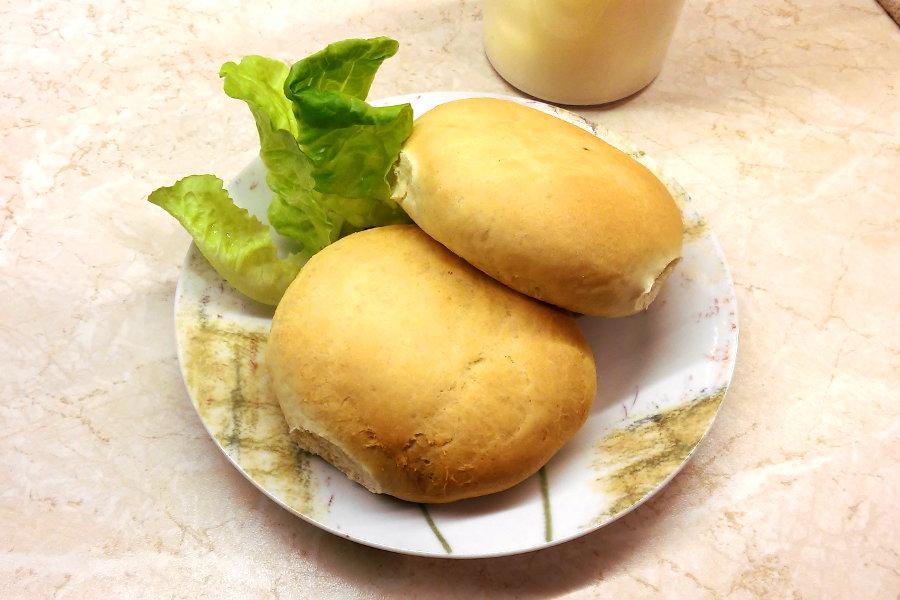 εύκολο ψωμάκι σπιτικό τρυφερό μπέργκερ